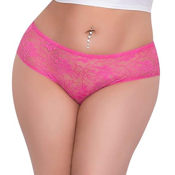 Lencería Erotica Mujer Lencería Sexy para Mujeres Briefs de Tanga Ropa Interior Tallas Grandes señoras Bragas Tanga Knick G-String niña Modaworld S -XXXL: ...