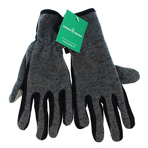 Werder Bremen Handschuh 'Softshell' Handschuhe versch. Größen, Größe:L