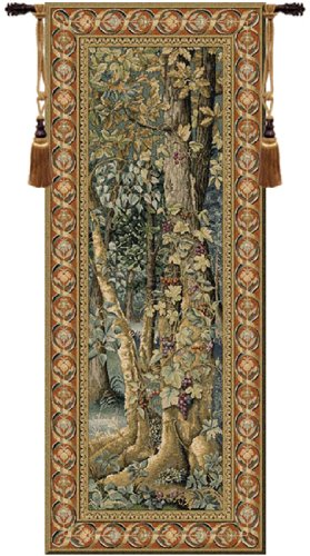 Vintage Forest Belgian Wall Art Tapestry by Charlotte Home Furnishings Inc. (Image #1)