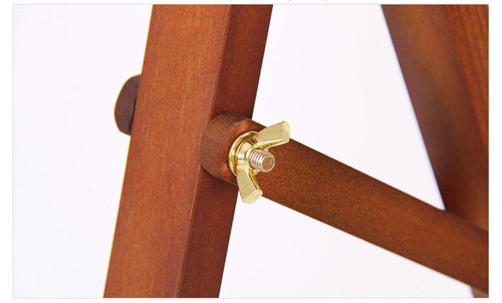 Professionelle Staffelei Holz Stent-Stil Erwachsenen Staffelei Massivholz Brett Skizze Skizze 4 Karat Staffelei 1,45 Meter Farbe : SCHWARZ