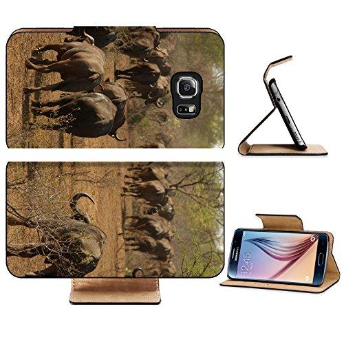 luxlady-premium-samsung-galaxy-s6-edge-flip-pu-leather-wallet-case-image-id-184329-african-buffalo-k