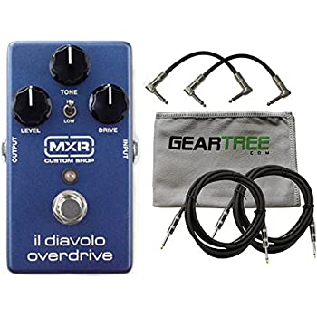 mxr csp036 il diavolo overdrive effects pedal w cloth and 4 cables musical instruments. Black Bedroom Furniture Sets. Home Design Ideas