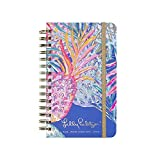 Lilly Pulitzer Medium 17 Month Hardcover Agenda, Personal Planner, 2018-2019 (Gypset)
