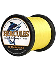 Hercules Super Strong 100m-2000m Gevlochten Vislijn 10lb - 300lb Zoutwater-Zoetwater PE Gevlochten Vislijnen Test 8 Strengen