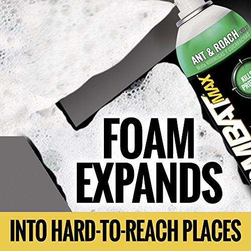 Combat Max Ant and Roach Killer Quick Kill Foam Spray, 17.5 Ounce