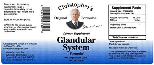 mula Glandular System, 100 Count ()