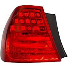Drivers Taillight Tail Lamp Quarter Panel Mounted Lens Replacement for BMW 3 Series M3 Sedan 63 21 7 289 429