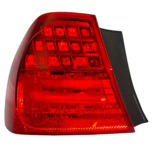 Drivers Taillight Tail Lamp Quarter Panel Mounted Lens Replacement for BMW 3 Series M3 Sedan 63 21 7 289 429 AutoAndArt ()