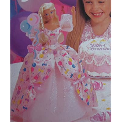 Birthday BARBIE Doll The Prettiest Present For Your...Special Day! (1996): Toys & Games