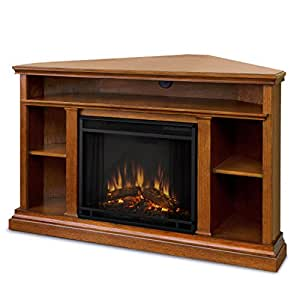diva at home winston ventless electric entertainment center indoor corner fireplace. Black Bedroom Furniture Sets. Home Design Ideas