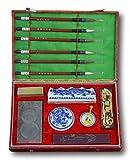 Chinese Calligraphy Brush Writing Painting Sumi Set(14 Items) Festcool