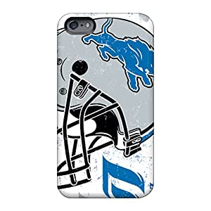 Scratch Resistant Cell-phone Hard Cover For Apple Iphone 6 (yNm29578jVld) Provide Private Custom Lifelike Detroit Lions Series