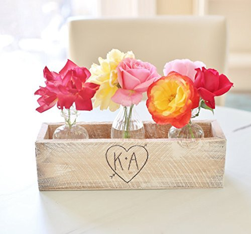 Rustic Personalized Planter or Flower Box