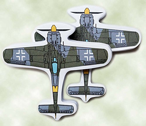 ane Sticky Note 2 Pack World War 2 German Fighter Airplane Model (Focke Wulf Airplane)