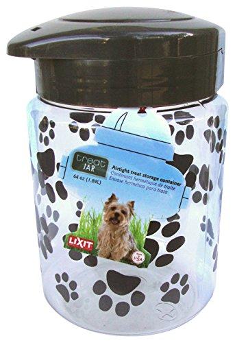 Lixit Dog Treat Plastic Jar ()