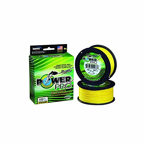 (2-Pack) Power Pro Braided Fishing Line (8lb – 65lb sizes) (150yd-300yd lengths)