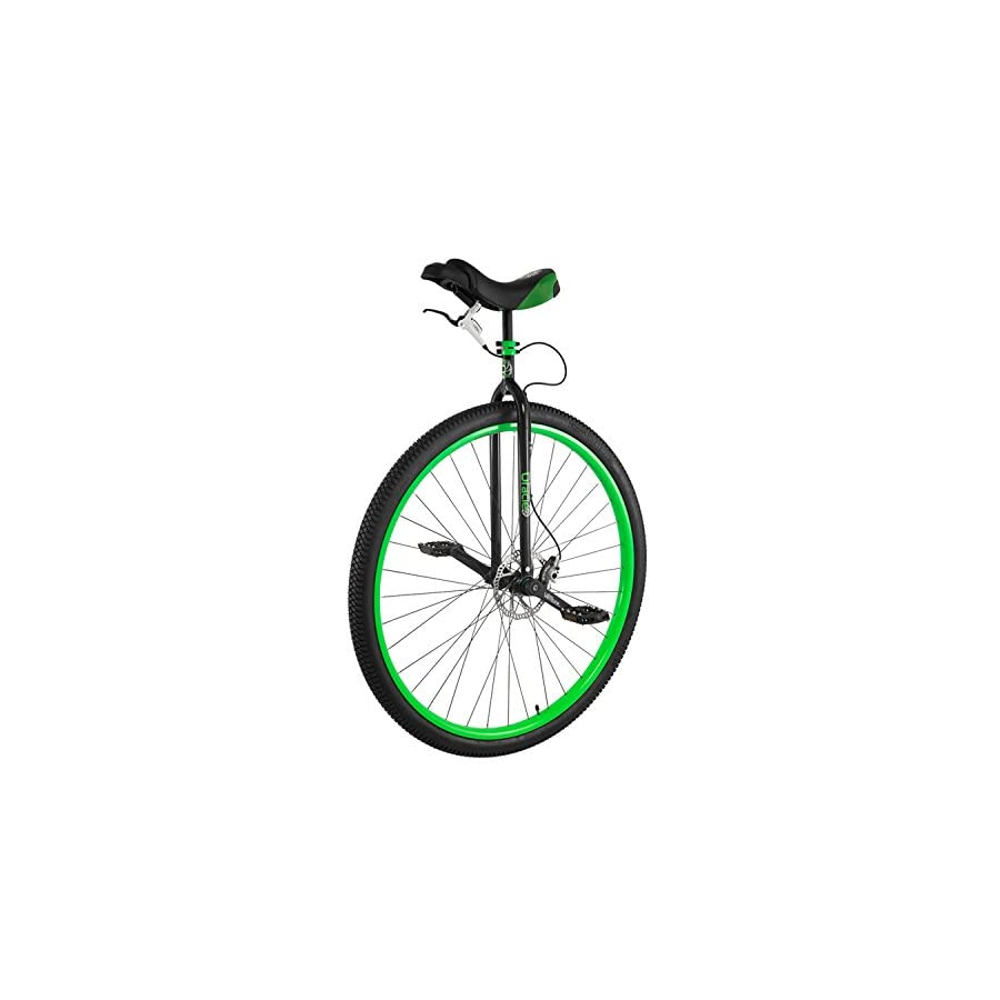 Nimbus Oracle Unicycle, Black/Neon Green, 36 Inch