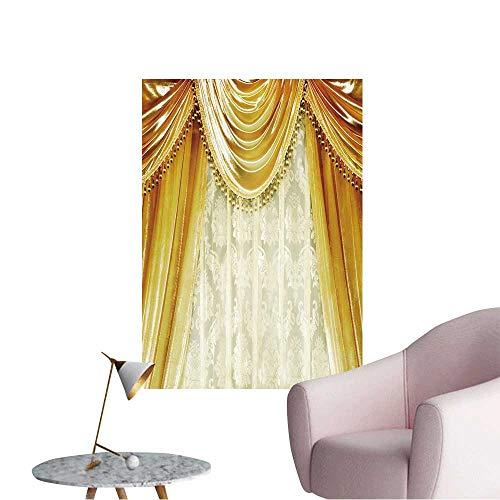 (Modern Painting Luxury Velvet Curtain Home Decoration,16
