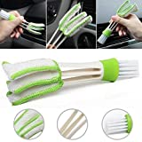 Che-goodDebris Cleanup - Function Double Head Dust Cleaning Brush Shutter Window Blind Car Air Conditioning Vent Tool - Detritu Cleansing - 1PCs