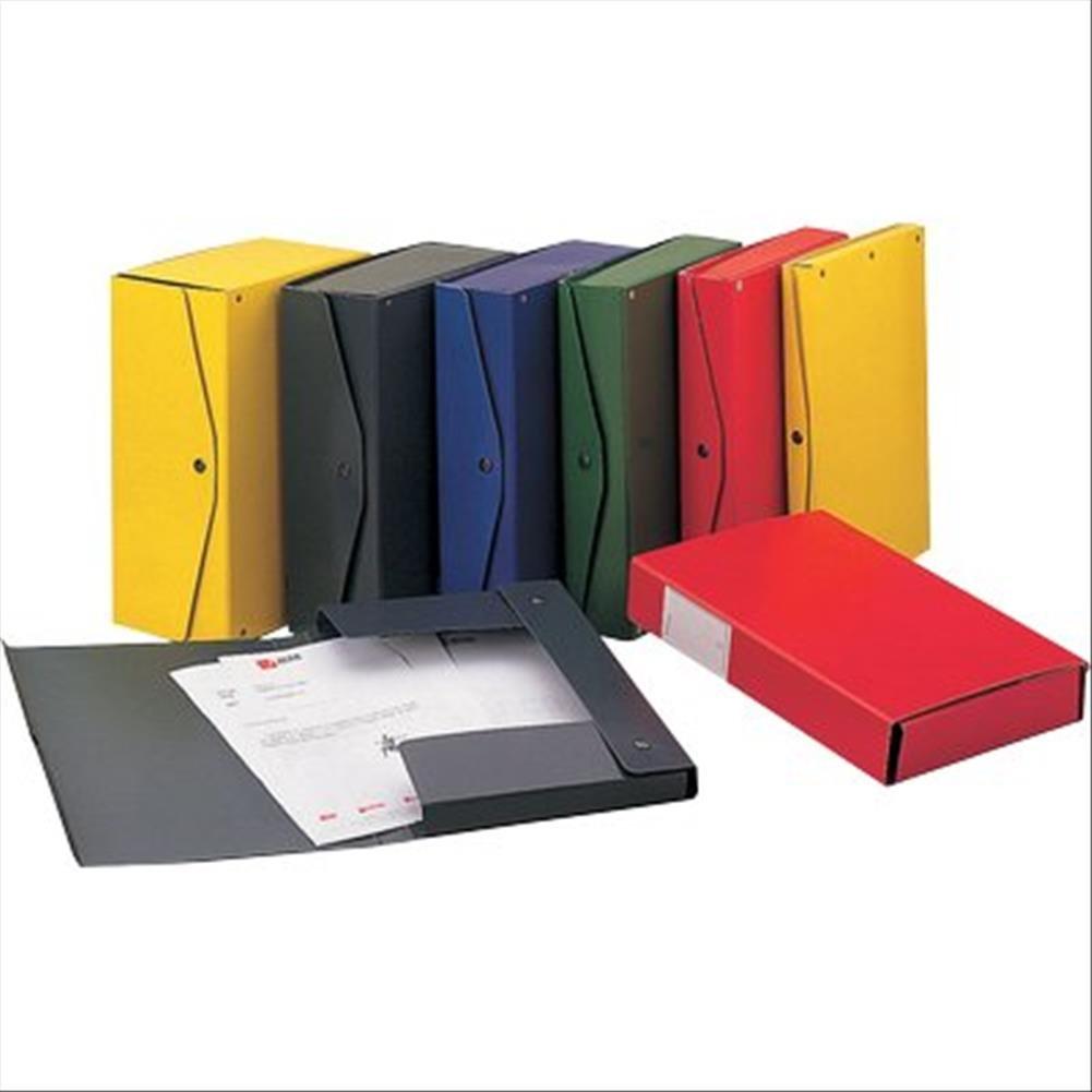 Rexel 00023911 Project 10 Scatola Archivio Dorso, 10 cm, Rosso ACCO Brands 137924