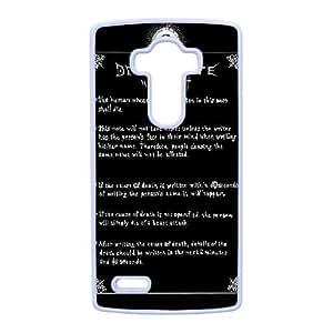LG G4 Phone Case White Death Note ES3TY7885451