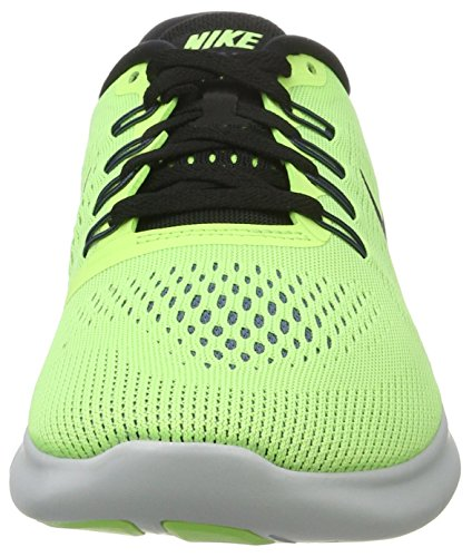 Nike Free RN Ghost Green/Black/Blue Moon Mens Running Shoes by Nike (Image #4)