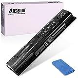 Ansanor 47Wh 10.8V Laptop Battery for HP Pavilion Envy TouchSmart 14 15 17, 710416-001 710417-001 709988-421 709989-421 HSTNN-LB4N HSTNN-LB4O HSTNN-YB4N HSTNN-YB4O [HP PI06]