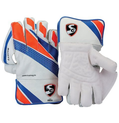 SG League Wicket Keeping Gloves Mens Size