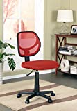 Kings Brand Furniture Mesh Task & Computer Office Chair, Red