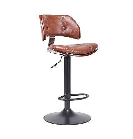 Fine Amazon Com Luxury Swivel Bar Stools Gas Lift Seat Adjust Squirreltailoven Fun Painted Chair Ideas Images Squirreltailovenorg