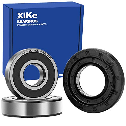 Price comparison product image XiKe 4036ER2004A,  4280FR4048E and 4280FR4048L Front Load Washer Tub Bearing Seal Kit Rotate Quiet and Durable,  Replacement for LG and Kenmore,  1267489,  AH3522855,  AP4438637,  EA3522855,  PS3522855.