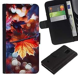 WINCASE (No Para S5) Cuadro Funda Voltear Cuero Ranura Tarjetas TPU Carcasas Protectora Cover Case Para Samsung Galaxy S5 Mini, SM-G800 - amar marco lindo pareja blanca