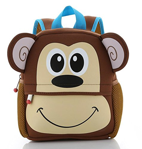 LovelySprouts Toddler Animal Backpack |  - Monkey Backpack Shopping Results