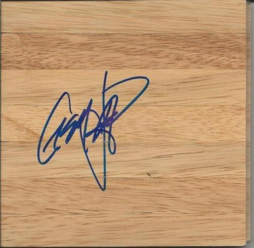 Casey Jacobsen Signed 6x6 Floorboard Stanford Phoenix Suns Brose Baskets