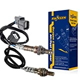 Kwiksen Heated 2Pcs Air Fuel Ratio O2 Oxygen Sensor 1 Sensor 2 Upstream Downstream For 2002 2003 2004 Acura RSX Base 2.0L Auto Trans 234-9006 234-4122