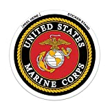 marine corps auto decal - U.S. Marine Corps Car Decal / Sticker