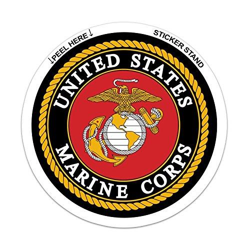 U.S. Marine Corps Car Decal / Sticker