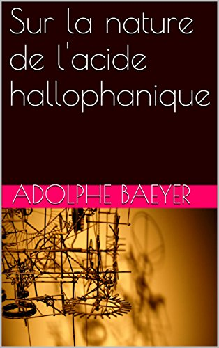 Sur la nature de l'acide hallophanique (French Edition)