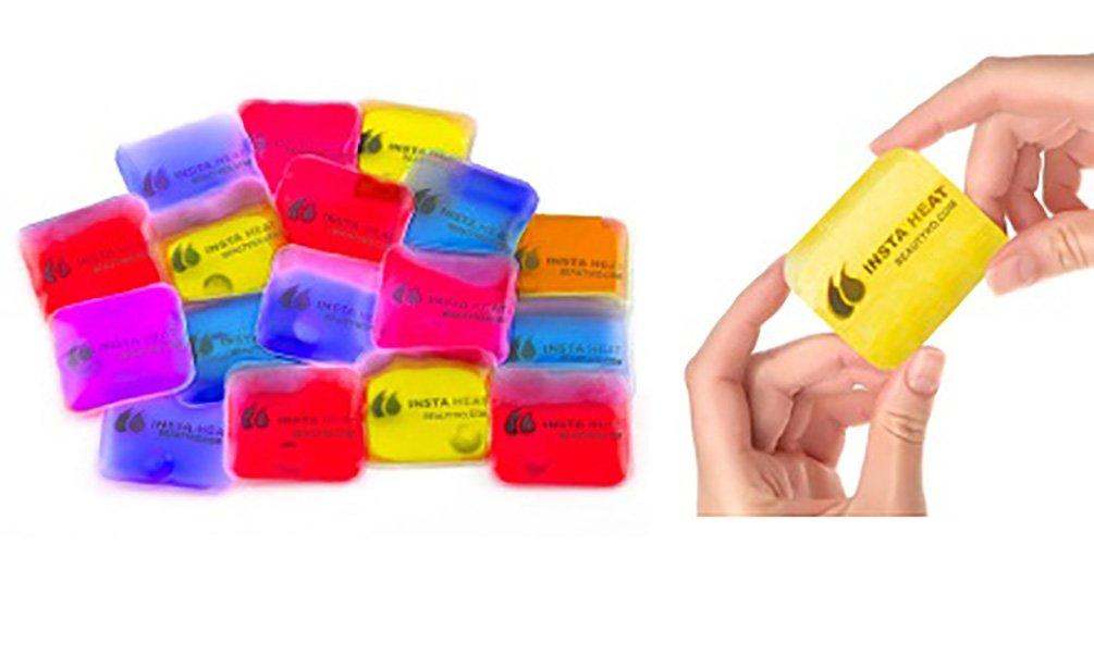 Shop Flash Insta Heat Reusable Click Hand Warmers, Multi Color, 100 Count