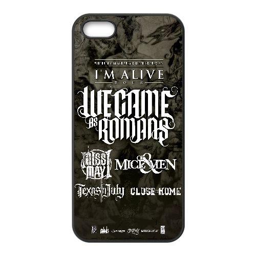 Of Mice & Men 009 coque iPhone 4 4S Housse téléphone Noir de couverture de cas coque EOKXLKNBC18721