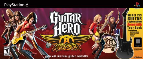 Guitar Hero Aerosmith Wireless Bundle - PlayStation 2
