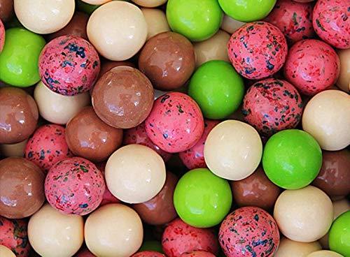 Gumballs for Gumball Machines - Ice Cream Sundae - 1 inch box of 15 lb - Fresh Gumballs for Bulk Vending Machines - Gumball Machine Refills - Fruit Gumballs 25 mm 850 Count ()
