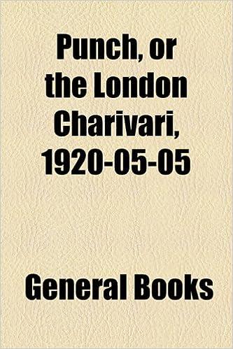 Book Punch, or the London Charivari, 1920-05-05