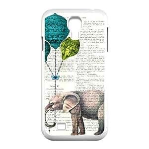 Elephant Original New Print DIY Phone Case for SamSung Galaxy S4 I9500,personalized case cover ygtg524565 WANGJING JINDA