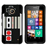 MINITURTLE Case Compatible w/ Nokia Lumia 635 Case Hard Shell Cover w/ Stand Soft Silicone Game Controller For Sale
