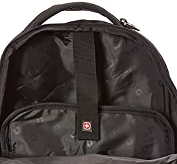 SwissGear SA9998 Black Computer Backpack - Fits Most 15 Inch Laptops and Tablets