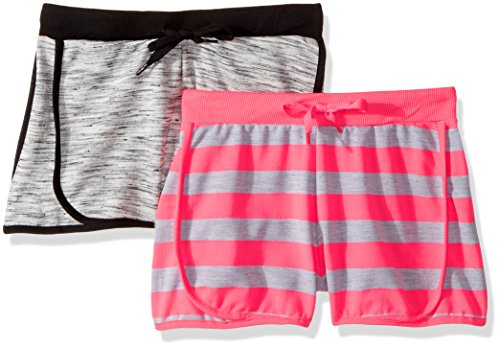 Limited Too Little Girls' 2 Pack Short (More Styles Available), 3062 Multi, 6X by Limited Too
