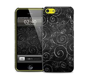 black halloween iPhone 5c protective phone case