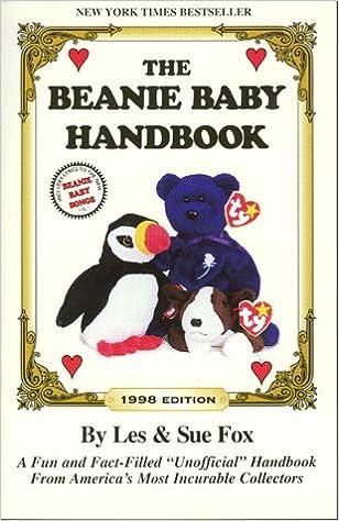 7a5f8d380e7 The Beanie Baby Handbook  1998 Edition  Les Fox