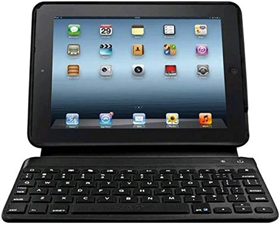 Amazon Com Zagg Keys Bluetooth Keyboard Case For Verizon Ellipsis 7 Black Computers Accessories